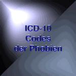 ICD-10 Codes der Phobien : Phobienliste
